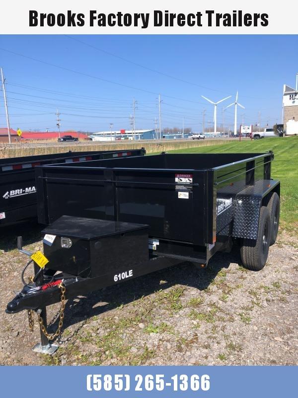 2022 BRI-MAR DT610LP-LE-10-A Dump Trailer BLACK