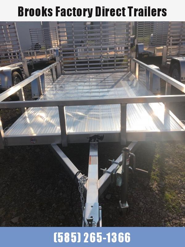 2022 Black Rhino LSS612 6 x 12-A Utility Trailer W/Aluminum Deck
