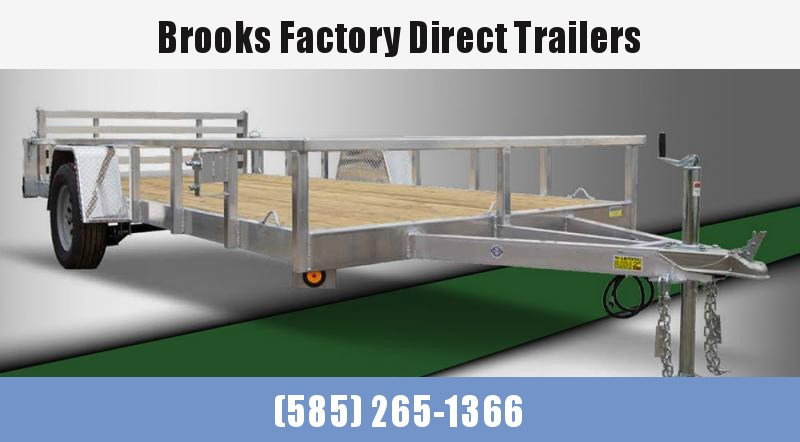2022 Quality Steel and Aluminum 7X10 8010ALDXSA3.5K Utility Trailer