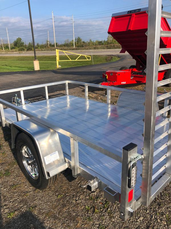 2022 Black Rhino LSS610 6 x 10-A Utility Trailer w/Aluminum Decking