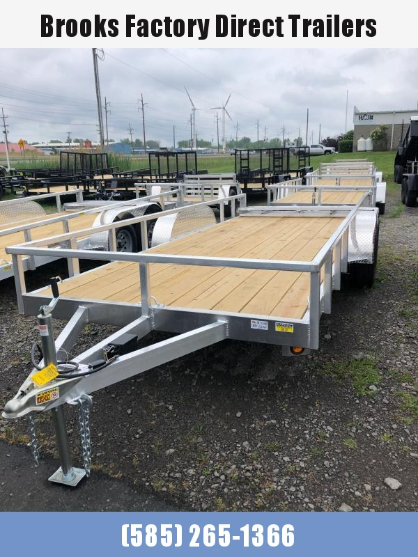 2022 Quality Steel and Aluminum 8018ALDX7K Utility Trailer