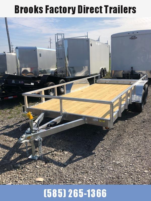2022 Quality Steel and Aluminum 8014ALDX7K Utility Trailer
