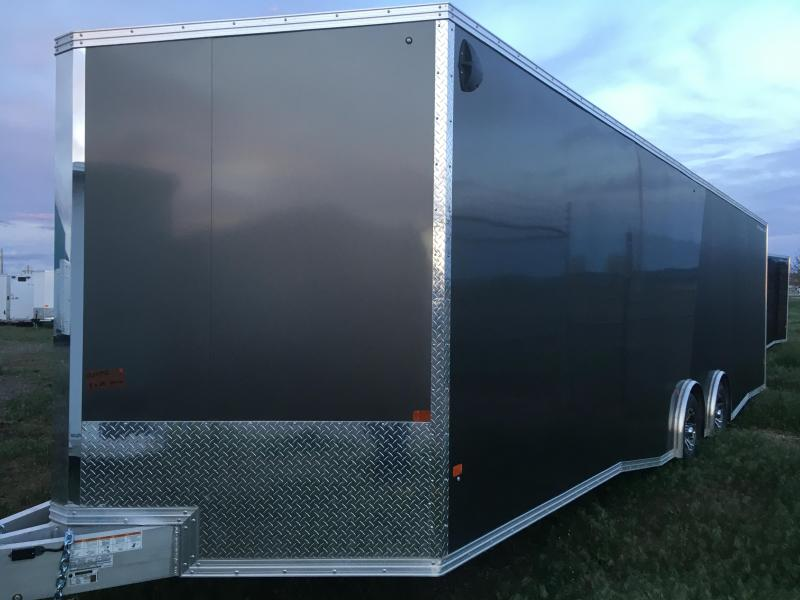 2020 Alcom-Stealth C8X28SSUP-IF Car / Racing Trailer  SOLD