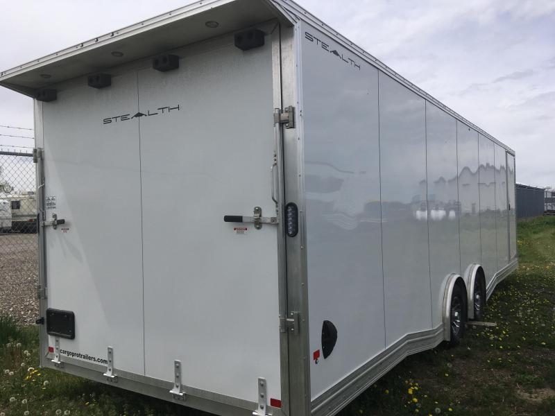 2020 Alcom-Stealth C8X28SCH-LMMT20 Car / Racing Trailer