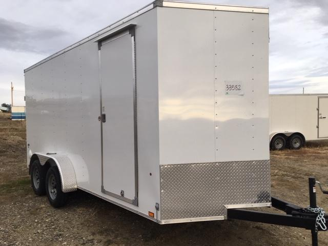 2021 Look Trailers SLTC7X16TE2DLX Enclosed Cargo Trailer