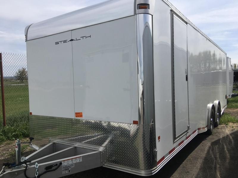 2020 Alcom-Stealth C8X26SCH-IF Car / Racing Trailer
