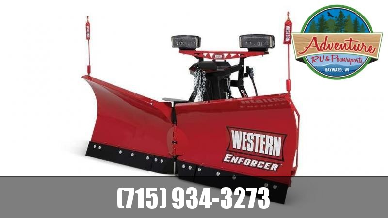 "2021 Western Snow Plow ENFORCER 7'6"" V PLOW P.C."