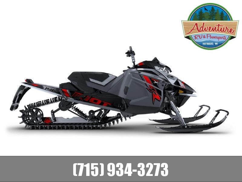 "2021 Arctic Cat Riot X 8000 146""/2.60"" AMS w/ QS3 Shocks Charcoal"