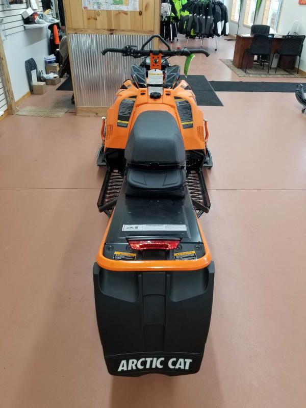 """2021 Arctic Cat Riot X 8000 146""""/2.60"""" AMS w/ QS3 Shocks Orange"""