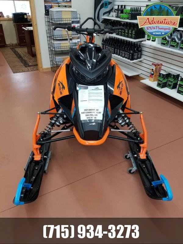 "2021 Arctic Cat Riot X 8000 146""/2.60"" AMS w/ QS3 Shocks Orange"