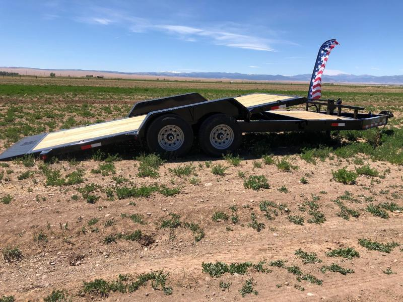 "2020 Load Trail 83""X20' Tilt-N-Go Tilt Deck 14K Equipment Trailer"
