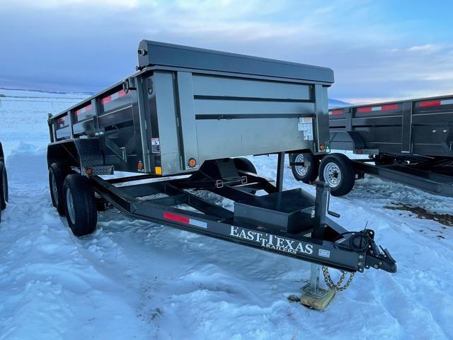 "83""x12' Bumper Dump 12K"