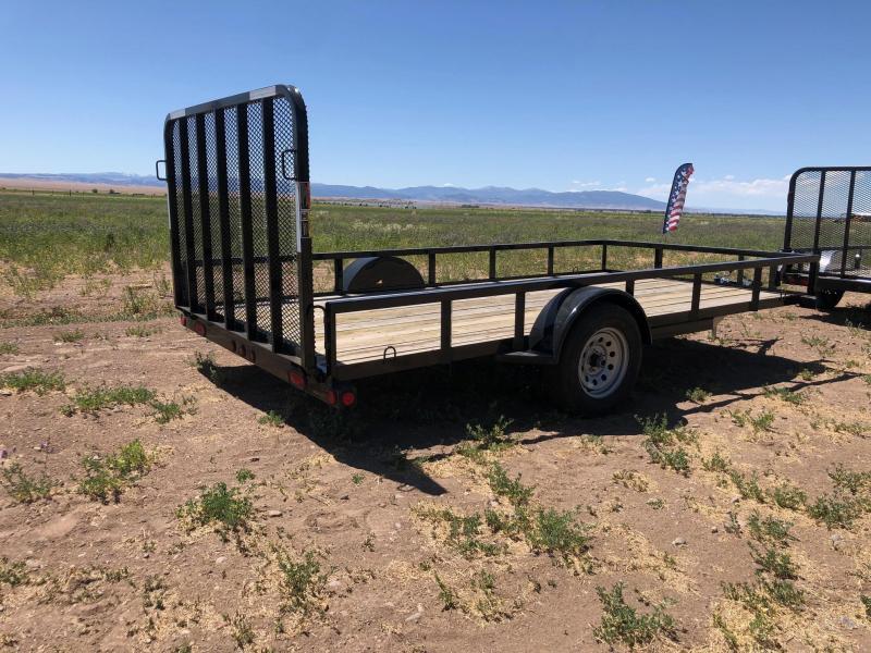 "2020 Load Trail 83""X14' Single Axle Utility Trailer 3K Utility Trailer"
