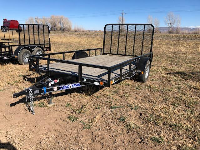 "83"" X 12' SINGLE AXLE (4"" CHANNEL FRAME)"