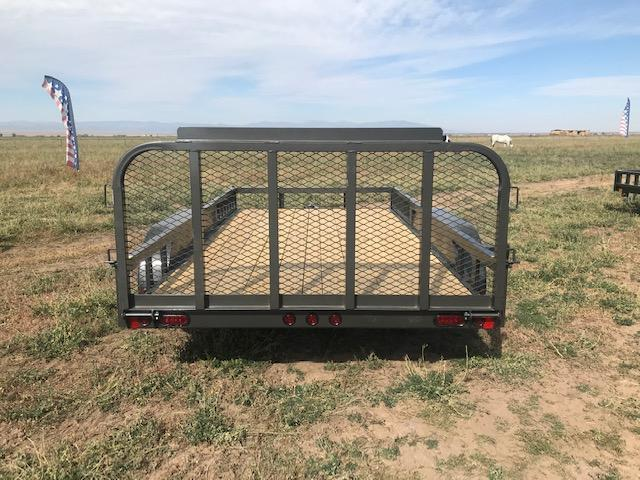 "2021 East Texas 83""X14' Utility 7K Utility Trailer"