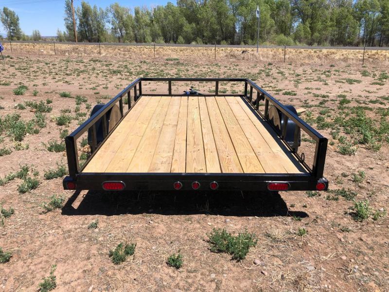 "2020 Load Trail 77""X12' Single Axle Utility Trailer 3K Utility Trailer"
