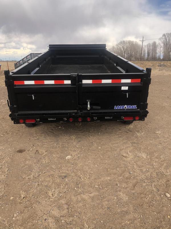 2020 Load Trail 16' Gooseneck Dump 14K Dump Trailer