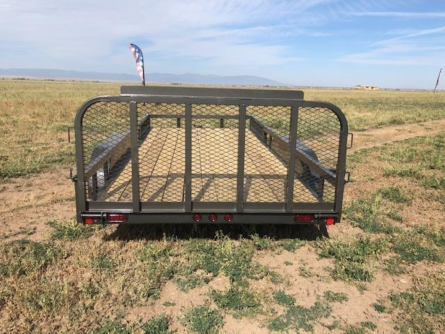 "2021 East Texas 83""X16' Utility 7K Utility Trailer"