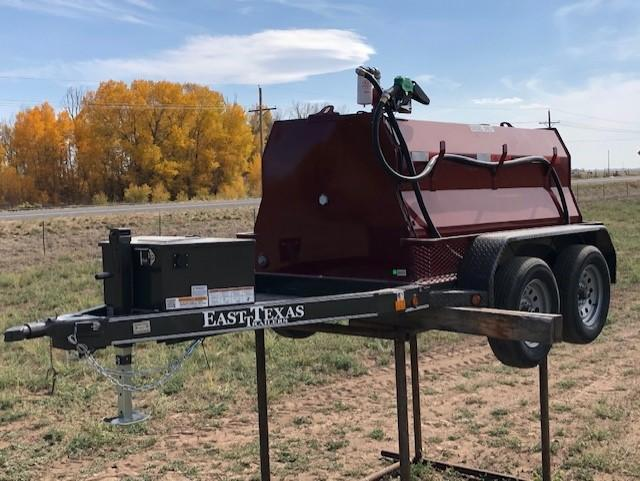2021 East Texas 600 Gall. Diesel Tank Trailer Tank Trailer