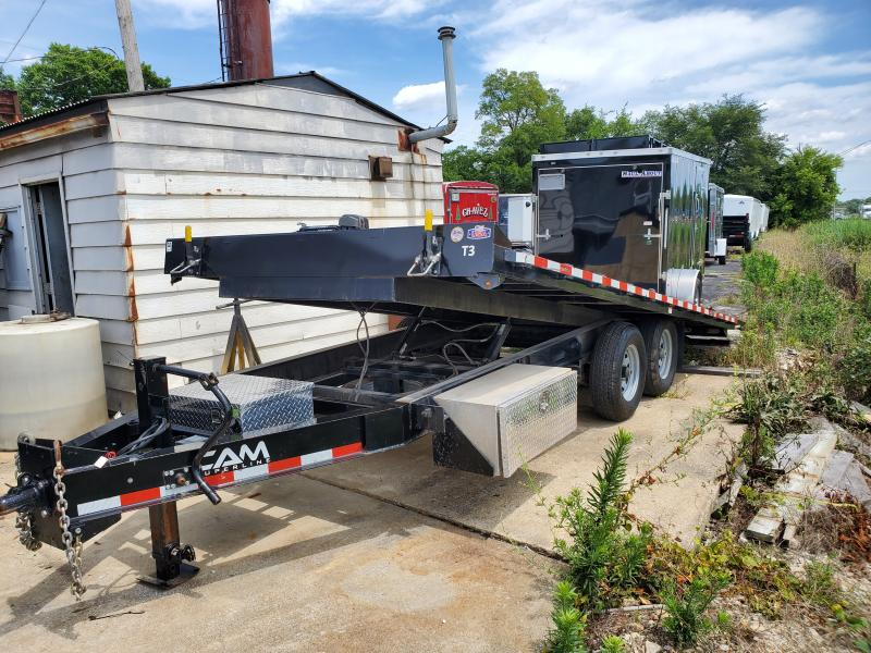 POWER TILT DECKOVER EQUIPMENT TRAILER