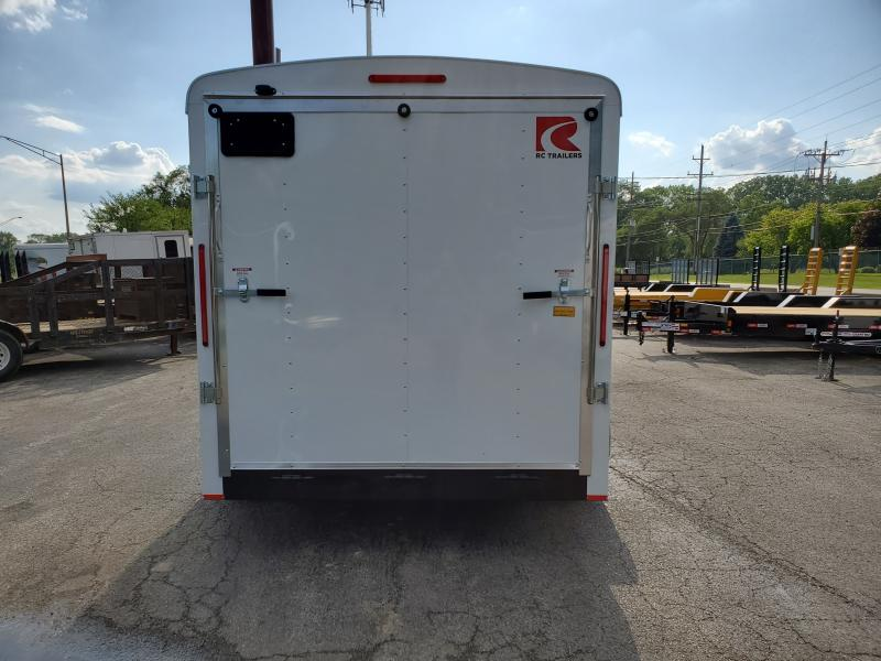 7X16 CARGO / ENCLOSED TRAILER WITH PACKAGE