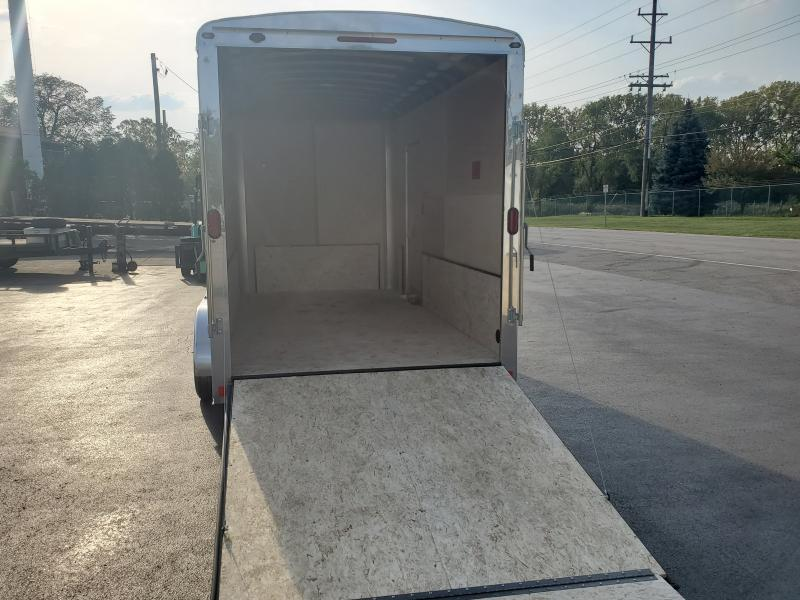 7X14 WITH PACKAGE Enclosed Cargo Trailer