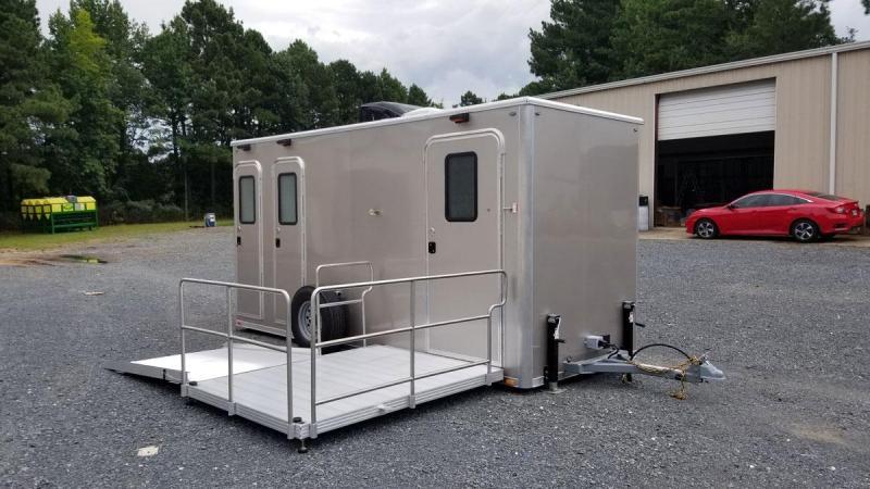 ADA + 2 Station Shower Trailer with Sinks