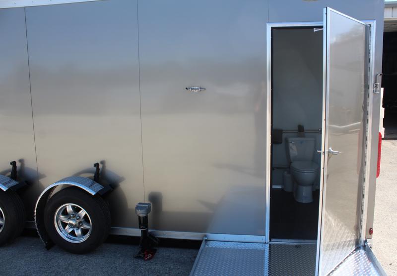 5 Station - ADA +4 Compliant Restroom Shower Trailer Combo