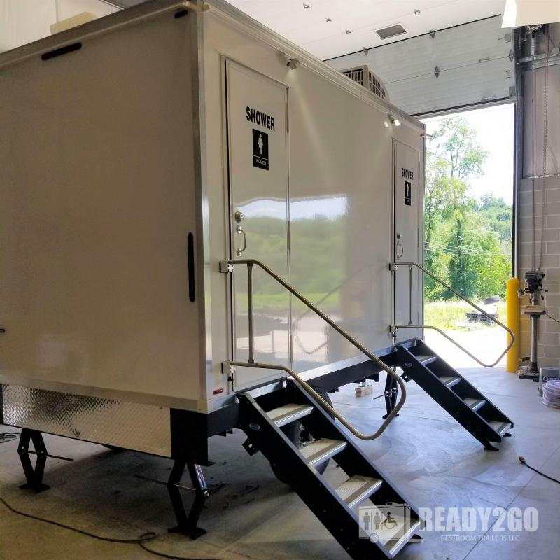 4 Station Shower Trailer