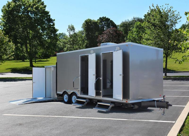 7 Station - ADA Restroom Trailer +6 Station