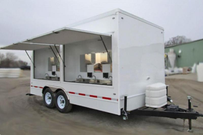 12 Station Hand Wash Trailer