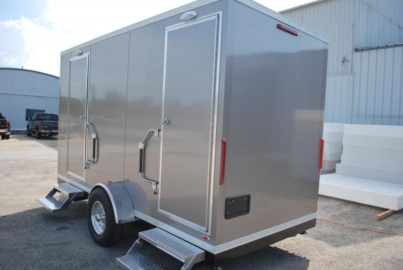 4 Station Restroom Trailer