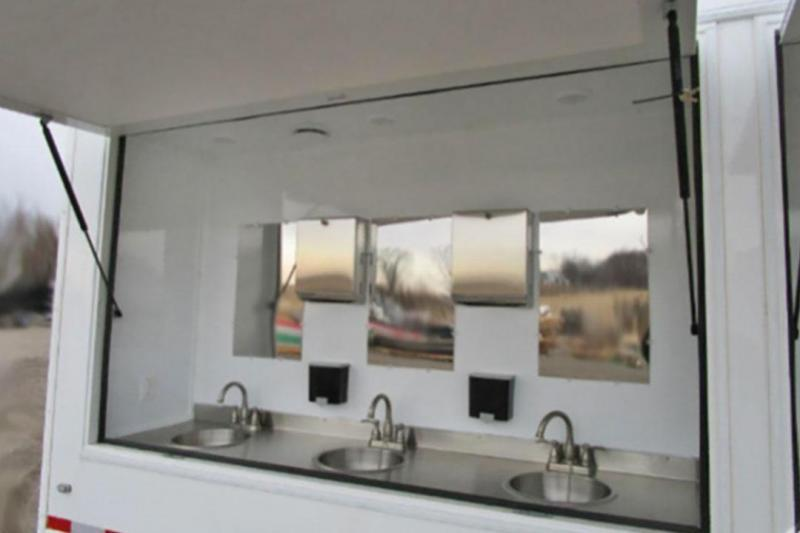 12 Station Hand Wash Trailer
