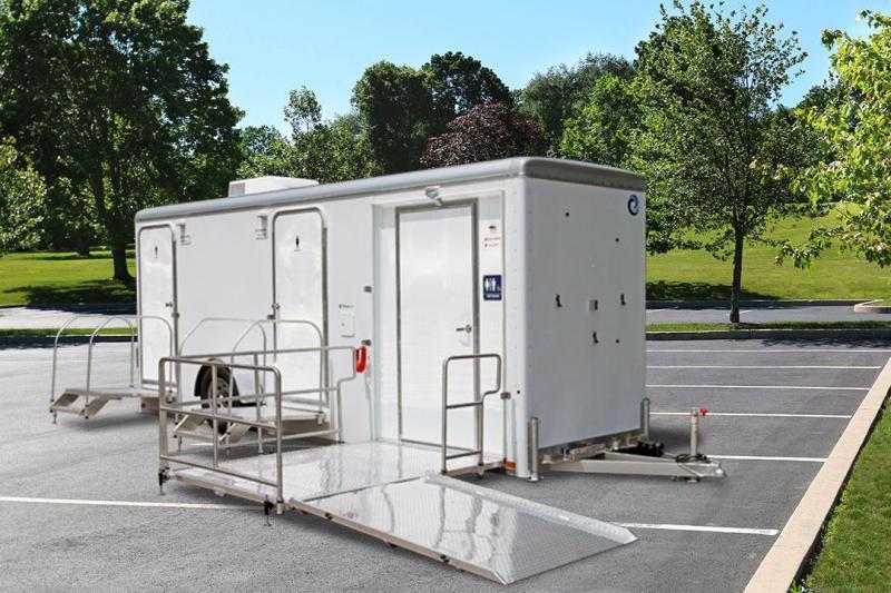 3 Station - ADA +2 Station Restroom / Shower Combo Trailer
