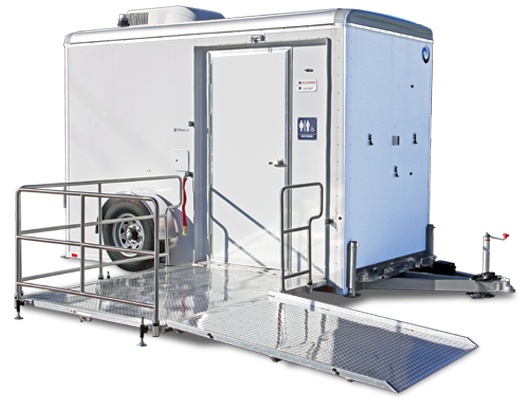 1 Station ADA Compliant Restroom Trailer