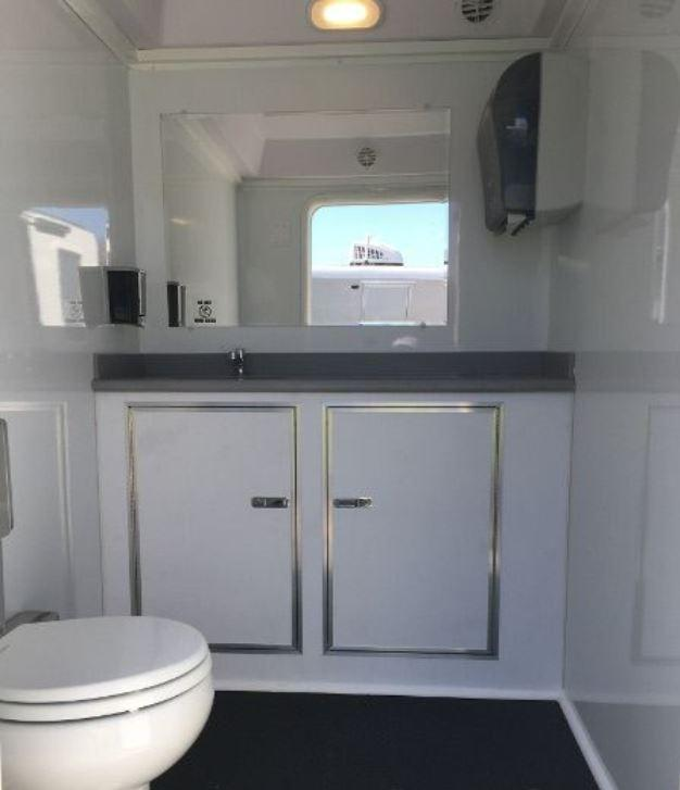 5 Station Restroom Trailer