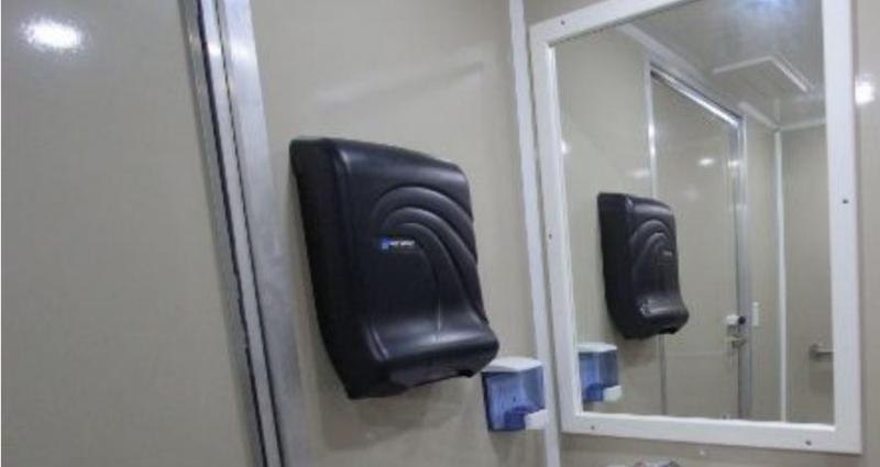 4 Station Private Restroom Trailer