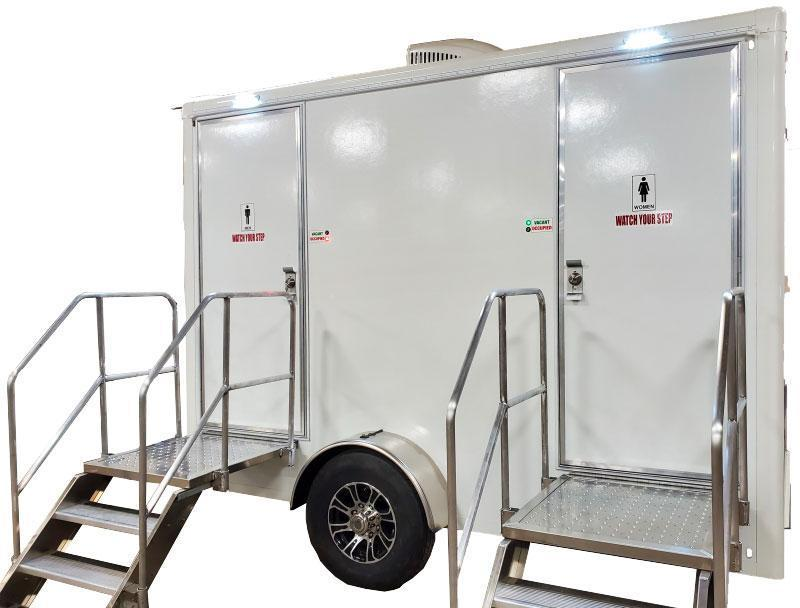 2 Station Restroom Trailer