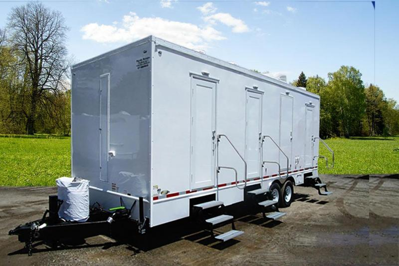 6 Station Shower Trailer