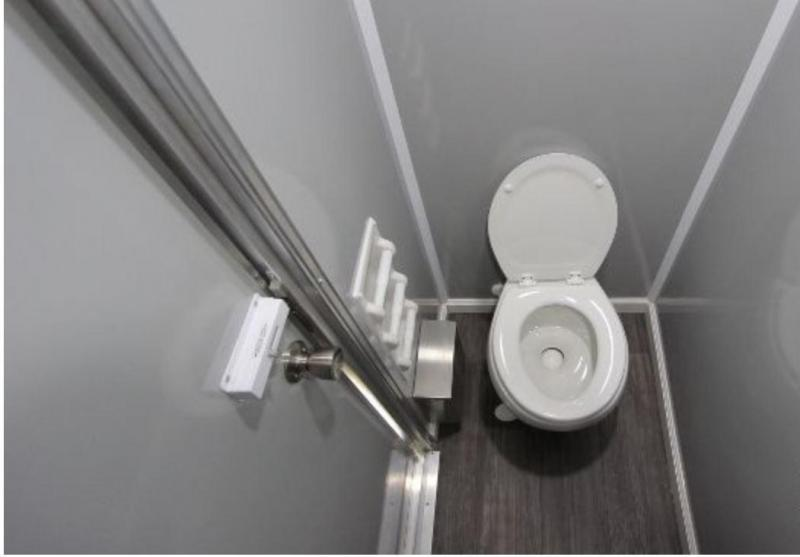 5 Station - ADA +4 Station Restroom / Shower Combo Trailer