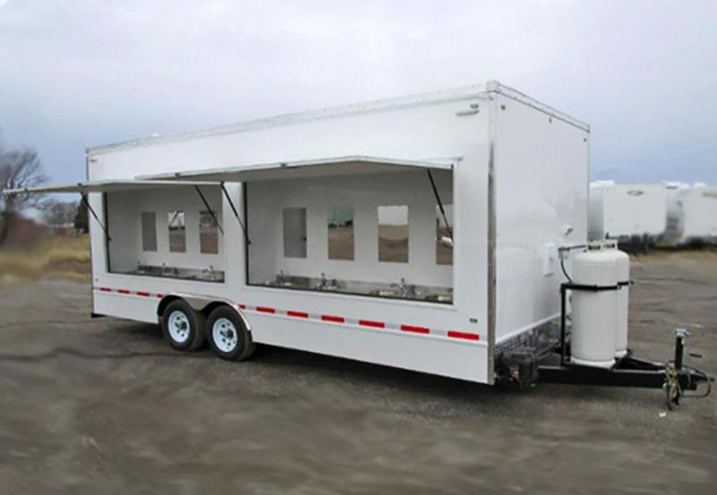16 Station Hand Wash Trailer
