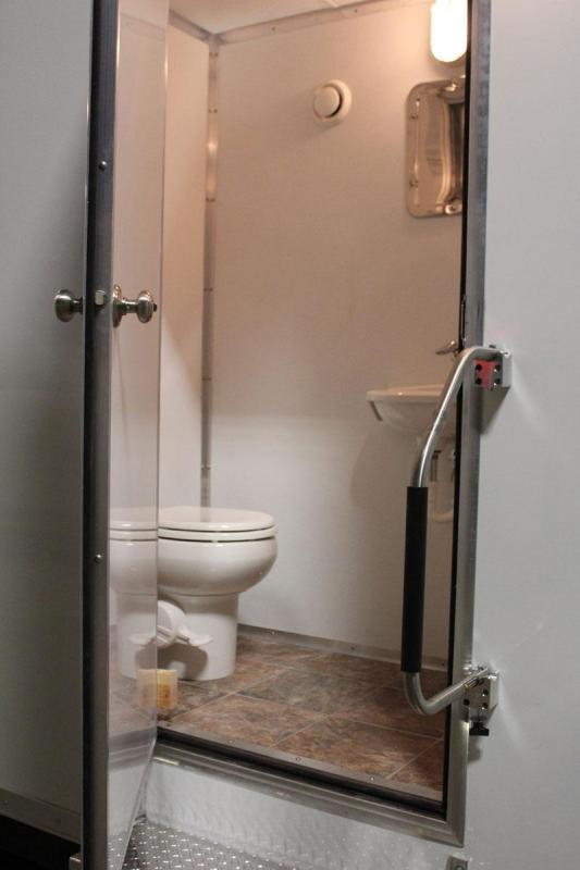 2 Station - ADA +1 Compliant Shower Trailer Restroom Combo - 25 ft