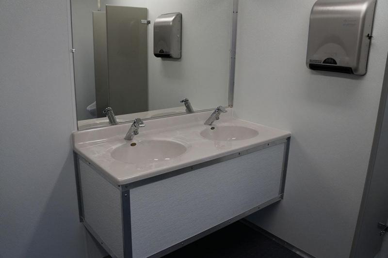 10 Station Restroom Trailer