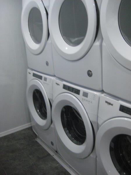 4 Station Laundry Trailer