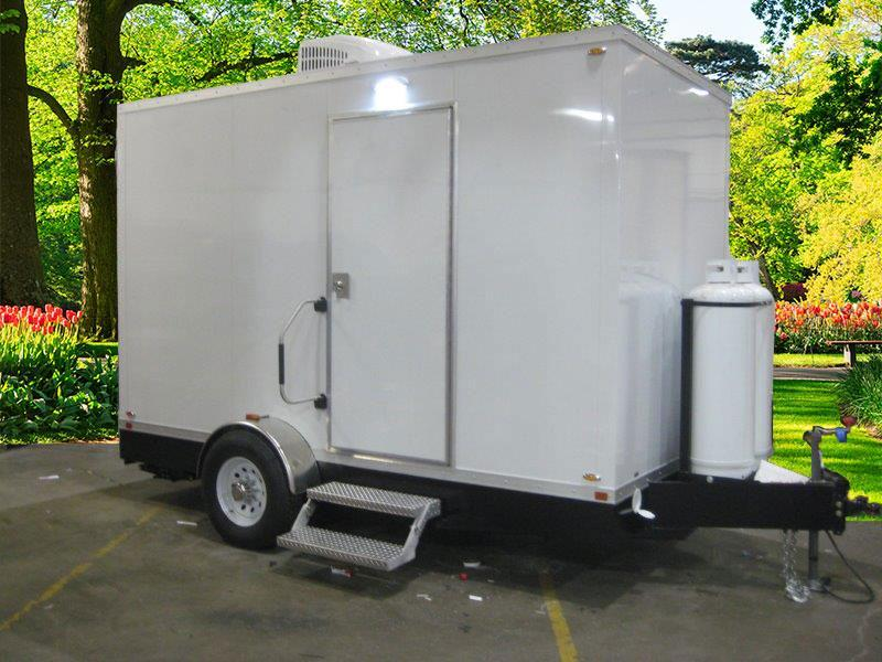4 Station Laundry Trailer