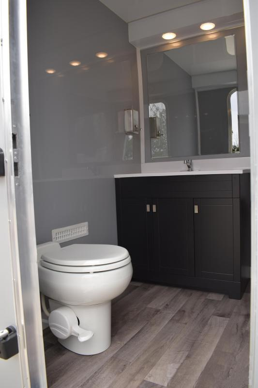 3 Station Restroom Trailer - All Aluminum