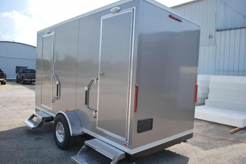 2 Station Shower Trailer
