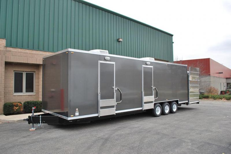 11 Station - ADA Restroom Trailer +10 Station