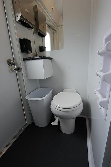 2 Station Restroom Shower Trailer Combo