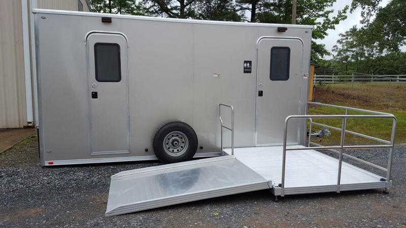 ADA + 1 Station Restroom Shower Trailer Combo